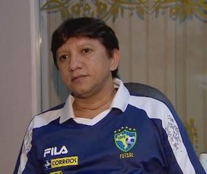 Luiz Carlos Araújo, Presidente da Federação Amapaense de Futsal (Foto: Reprodução/TV Amapá)
