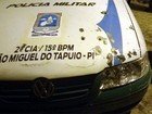 Bando dispara contra a PM e assalta banco em São Miguel do Tapuio