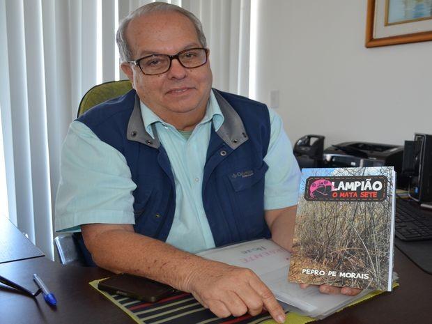 Pedro de Moraes diz que não esperava repercussão sobre o livro (Foto: Daniel Soares/G1)