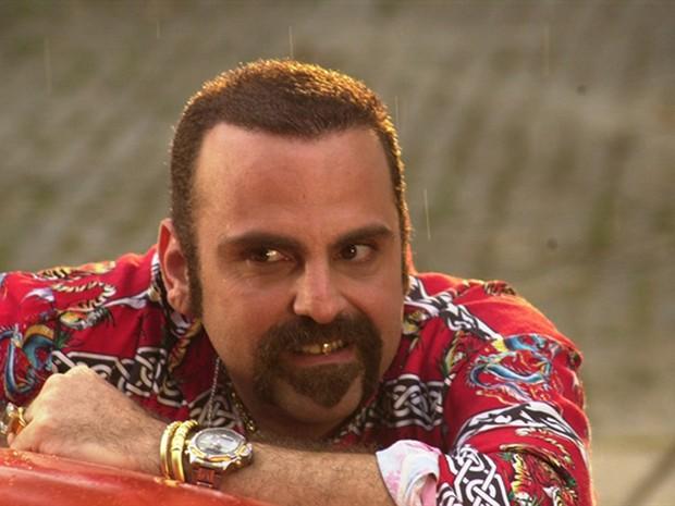 Guilherme Karan interpretou o personagem raposão, na novela O Clone (Foto: TV Globo / Gianne Carvalho)