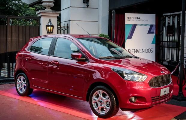 Ford vai vender o Ka na Argentina (Foto: Divulgação)