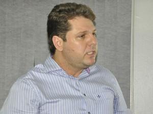 Marcos Carrasco presidente do Sinop (Foto: Robson Boamorte)