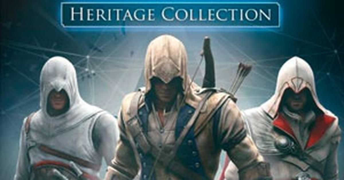 Coletânea traz os 5 primeiros games da série 'Assassin's Creed'