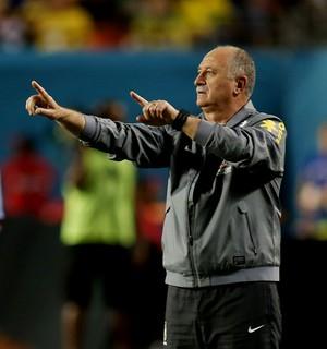 luiz felipe scolari brasil gol honduras (Foto: Mowa Press)