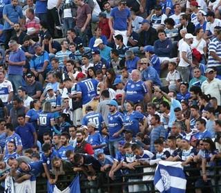 Torcida do São Bento no estádio Walter Ribeiro (Foto: Jesus Vicente/EC São Bento)