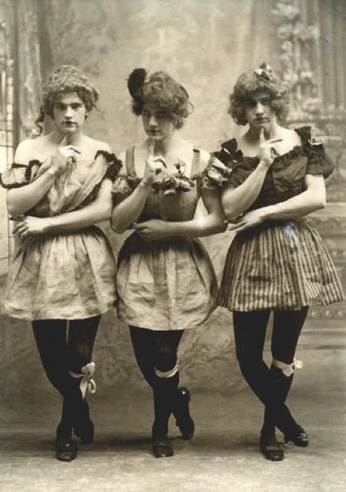 """As garotas """"dinamarquesas"""" vitorianas (Foto: Reprodução)"""