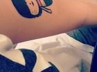 Sophia Abrahão mostra nova tatuagem em rede social