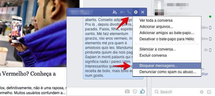 Como Bloquear Mensagens De Um Amigo No Facebook Sem Desfazer A