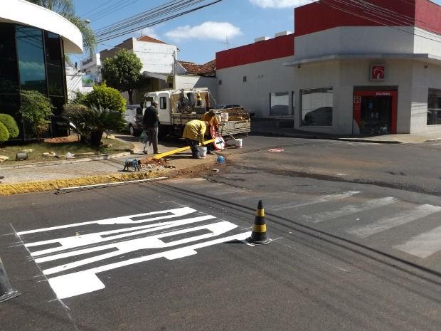 Mudança será realizada após contagem de veículos em cruzamentos (Foto: Ana Carolina Levorato/G1)