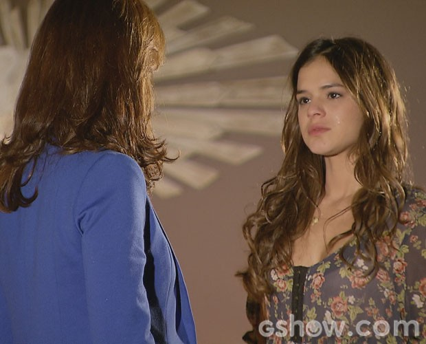 Bruna em cena com Júlia Lemmertz (Foto: Vídeo Show/TV Globo)