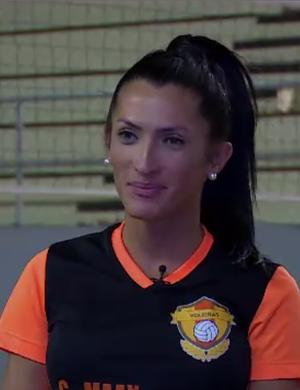 Isabelle Neres (Foto: Reprodução SporTV)