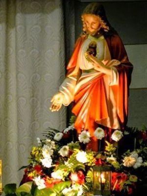 Comunidade comemora dia do Sagrado Coração de Jesus  (Foto: Divulgação/ Pastoral da Comunicação Vera Cruz)