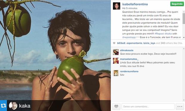 Isabela Fiorentino (Foto: Reprodução/ Instagram)