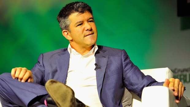 O presidente e criador do Uber, Travis Kalanick (Foto: Steve Jennings/Getty Images )