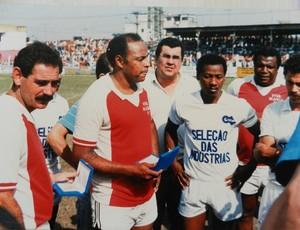 Rivellino foi um dos jogadores que atuou pelo XI da Saudade (Foto: Tirreno Da San Biagio / Arquivo pessoal)