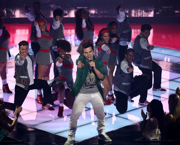 Danilo Dyba show (Foto: The Voice Brasil / Tv Globo)