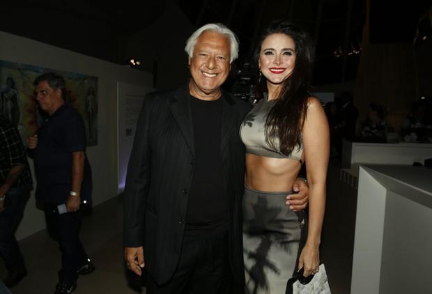 Antonio Fagundes e Alexandra Martins (Foto: Marcos Serra Lima / EGO)