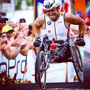 Alessandro Zanardi no Ironman do Havaí (Foto: Reprodução)