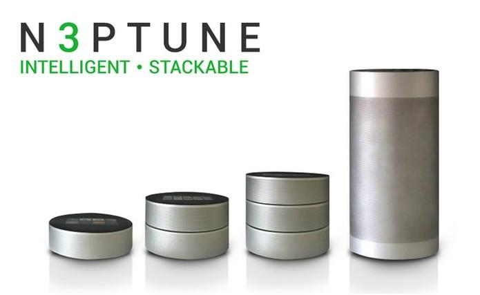 A caixa quando acoplada aumenta o som e o alcance (Foto: Divulgação/N3PTUNE)