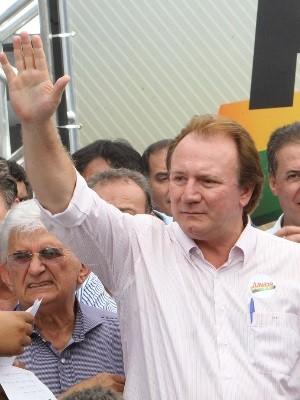 Empresário Júnior Friboi, Goiânia, Goiás (Foto: Manoel Souza/ O Popular)