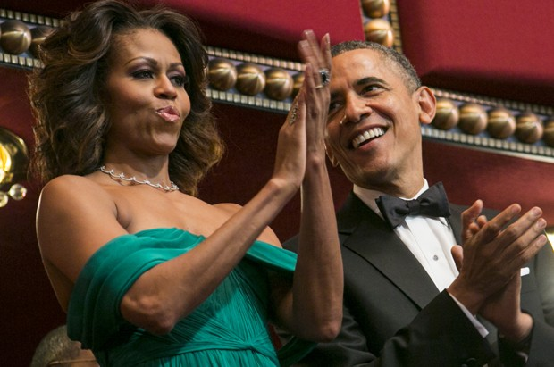 Michelle Obama e Barack Obama (Foto: Pool /Getty Images)