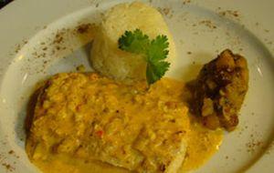 Robalo à indiana com mango chutney de Claude Troisgros
