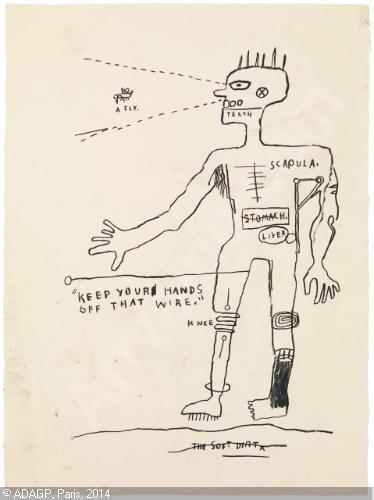 Wire, de Jean-Michel Basquiat  (Foto: Reprodução)