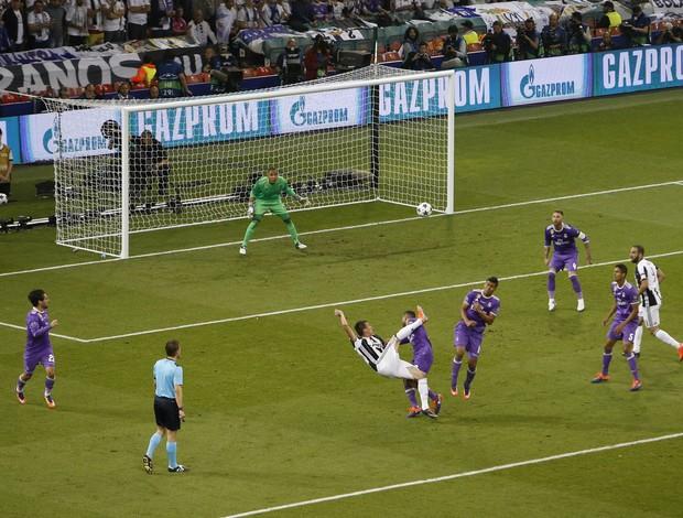 Gol Mandzukic, Juventus x Real Madrid