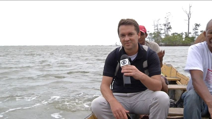 Mario Bonella desvenda a Ilha de Marajó (Foto: Reprodução/ TV Globo)