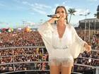 De branco outra vez, Ivete Sangalo é eleita a mais estilosa da folia baiana