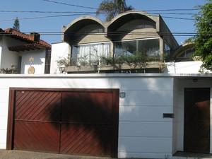 Casa de Sampaio tem 391 m² de área construída. (Foto: Leonardo Neiva/G1)