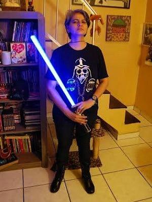 Juçara é vice-presidende do Conselho Jedi no Amazonas (Foto: Arquivo Pessoal/Juçara Menezes)