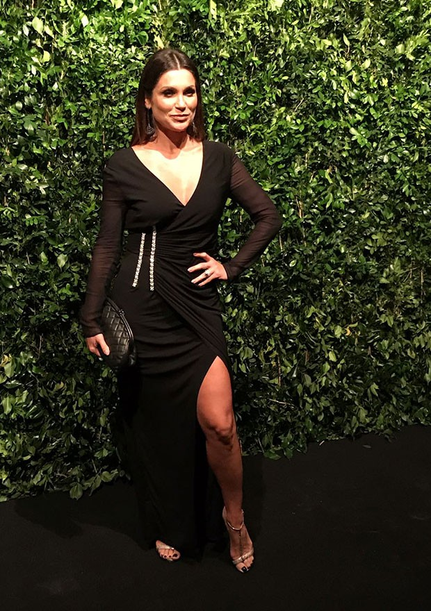 Flávia Alessandra no BrasilFoundation Gala (Foto: Paula Mello)