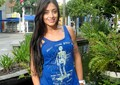 Aline Riscado segue uma dieta para ganhar massa magra e arrasar no carnaval (Foto: Domingão do Faustão / TV Globo)