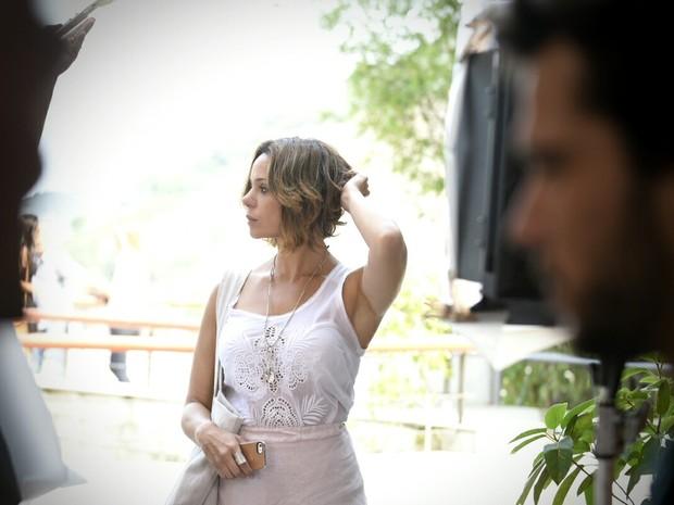 Vanessa Gerbelli grava no Rio (Foto: Raphael Dias/Gshow)