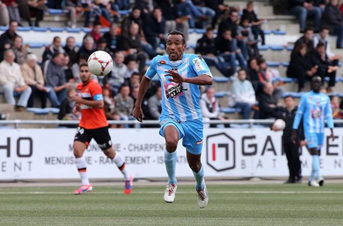 Eduardo - Ajaccio - Campeonato Francês 2013 (Foto: G. Pierlovisi/AC Ajaccio)