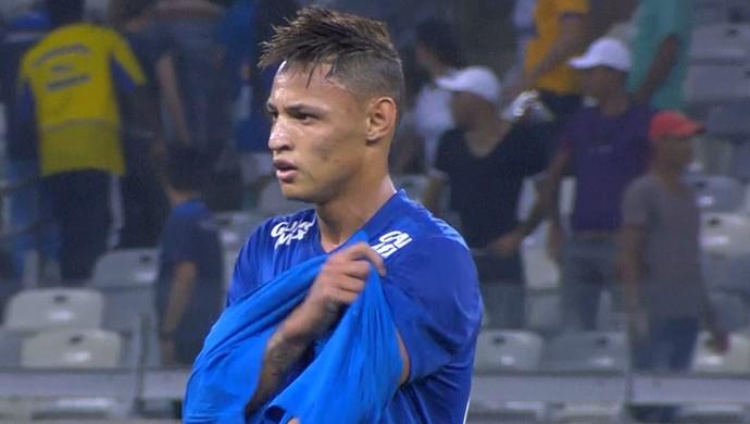 Neilton atacante Cruzeiro (Foto: Reprodução \Sportv)
