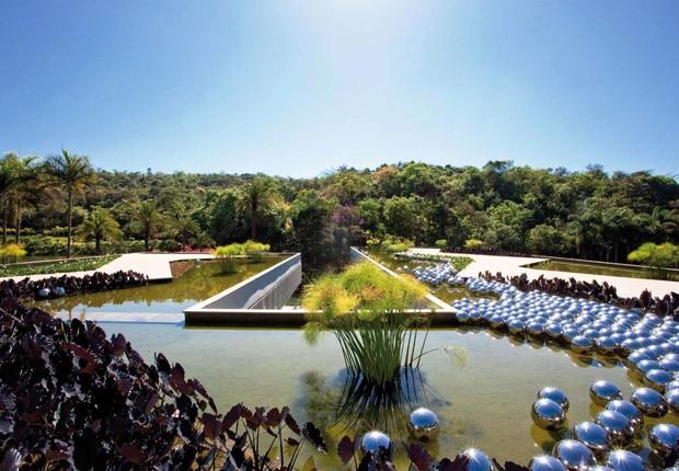 Museu de Inhotim , em Brumadinho, Minas Gerais: eleito entre os três melhores do país por usuários do Trip Advisor (Foto: Divulgação)