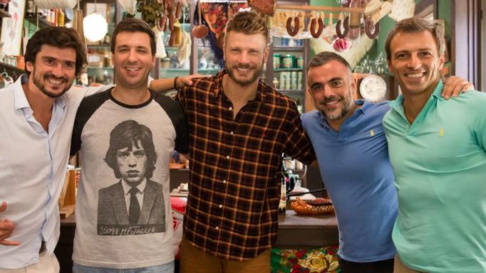 Tempero de Família_Portugal_Episódio 2_Rodrigo Hilbert e portugueses