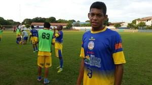 Ricardo Urubu reforça o Interporto nas semifinais do Tocantinense (Foto: Wilton Dias/TV Anhanguera)