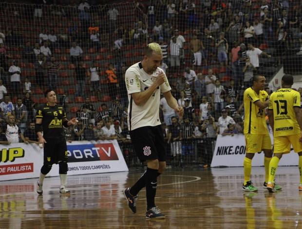 Leandro Caires Corinthians x Assoeva semifinal Liga Nacional de Futsal