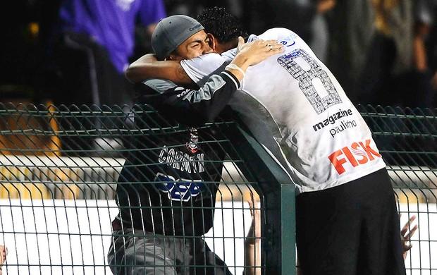 Corinthians x Vasco, Paulinho (Foto: Marcos Ribolli / Globoesporte.com)