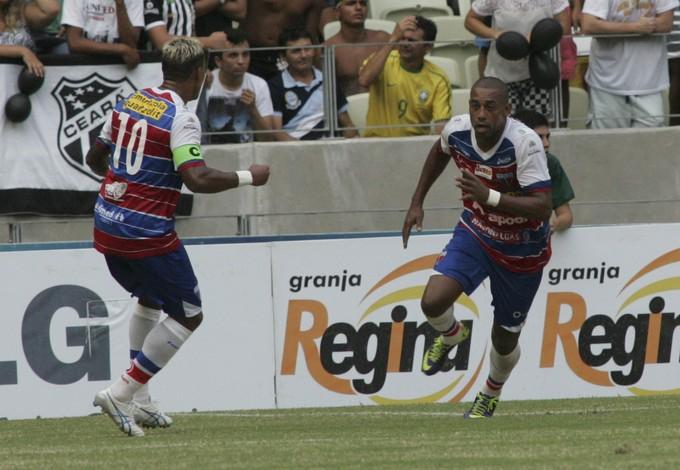 Marcelinho Paraíba, Robert, Fortaleza, Clássico-Rei (Foto: Bruno Gomes/Agência Diário)