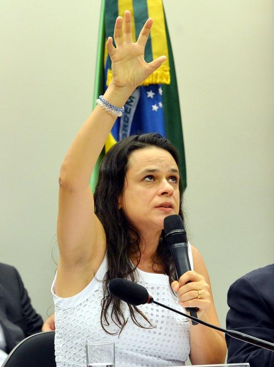 jurista Janaína Paschoal (Foto: Fabio Rodrigues Pozzebom/Agência Brasil)