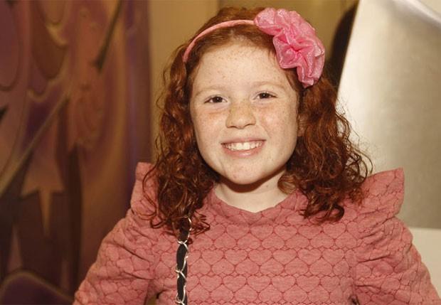 Vitória Diniz, que interpreta a Bibi na novela infantil Carrossel (Foto: Léo Franco/AgNews)