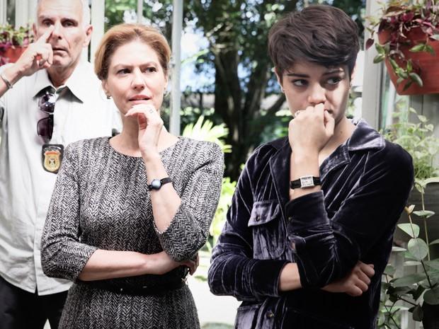 Angela e Duda (Foto: Pedro Curi / TV Globo)