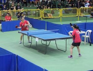 Tênis de Mesa Suzano Feminino Jogos Abertos (Foto: GloboEsporte.com)
