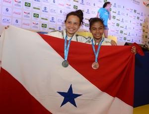 Ana Beatriz e Lorrany Brito conquistaram medalhas para o Pará (Foto: Rai Pontes/Agência Pará)