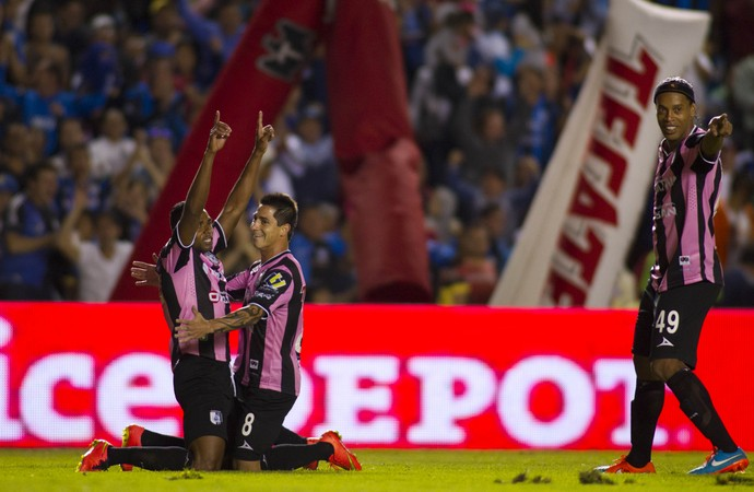 Querétaro x América-MG, comemoração (Foto: Getty)