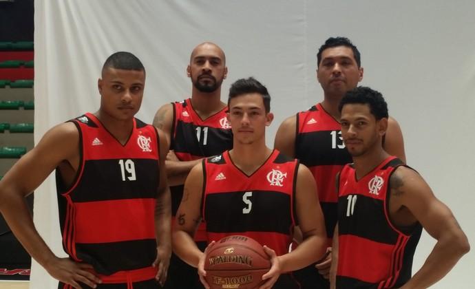 Flamengo media day basquete (Foto: Marcello Pires)